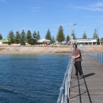 Brett on the Ceduna Jetty